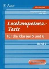 Lesekompetenz-Tests für die Klassen 5 und 6. Teil