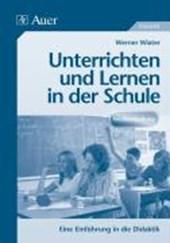 Unterrichten und Lernen in der Schule