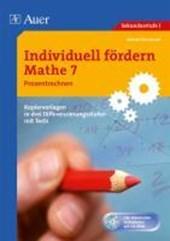 Individuell fördern: Mathe 7. Prozentrechnen