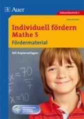 Individuell fördern Mathe 5, Fördermaterial