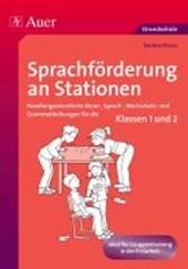 Sprachförderung an Stationen