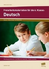 Freiarbeitsmaterialien für die 6. Klasse: Deutsch