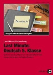 Last Minute: Deutsch 5. Klasse