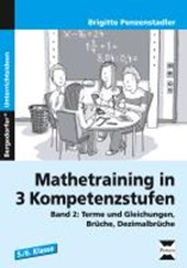 Mathetraining in 3 Kompetenzstufen