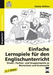Einfache Lernspiele für den Englischunterricht