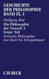 Die Philosophie der Neuzeit 3. Teil
