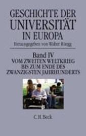 Geschichte der Universität in Europa 1946 -