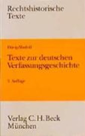 Texte zur deutschen Verfassungsgeschichte