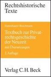 Textbuch zur Privatrechtsgeschichte der Neuzeit