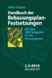 Handbuch der Bebauungsplan-Festsetzungen