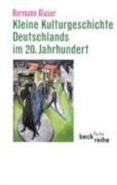 Kleine Kulturgeschichte Deutschlands im 20. Jahrhundert