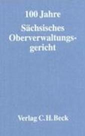 Festschrift 100 Jahre Sächsisches Oberverwaltungsgericht