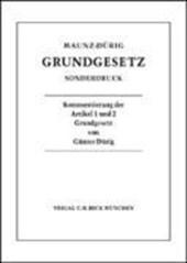 Grundgesetz. Sonderdruck