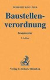Baustellenverordnung (BaustellV)