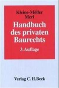 Handbuch des privaten Baurechts | Tassilo Eichberger |