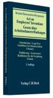 Gesetz über Arbeitnehmererfindungen / Act on Employees' Inventions