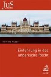 Einführung in das ungarische Recht