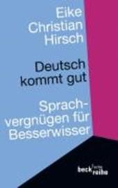 Deutsch kommt gut