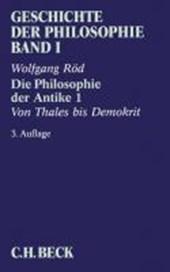 Geschichte der Philosophie 01. Die Philosophie der Antike