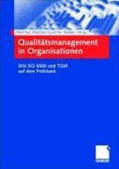 Qualitätsmanagement in Organisationen