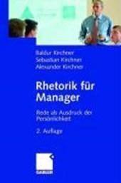 Rhetorik für Manager
