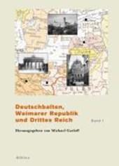 Deutschbalten, Weimarer Republik und Drittes Reich. Band