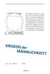 """L""""Homme 1016-362X / Krise(n) der Männlichkeit"""