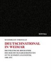 Deutschnational in Weimar