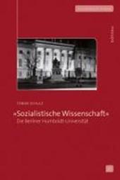 »Sozialistische Wissenschaft«