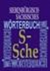 Siebenbürgisch-Sächsisches Wörterbuch 10. Band