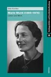 Marie Munk (1885-1978)