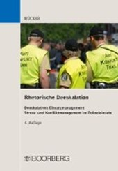 Rhetorische Deeskalation | Fritz Hücker |