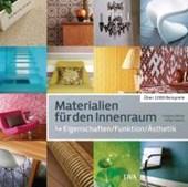 Materialien für den Innenraum