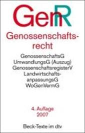 Genossenschaftsrecht ( GenR). Textausgabe