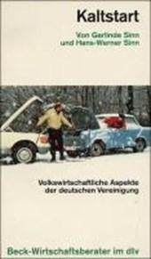 Kaltstart. Volkswirtschaftliche Aspekte der deutschen Vereinigung