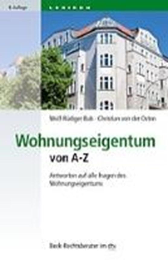 Wohnungseigentum von A - Z