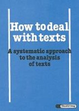How to deal with texts | Reinhard Kemnitz |