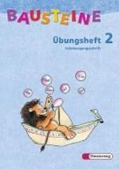 Bausteine Übungsheft 2. Schulausgangsschrift. Allgemeine Ausgabe. Neubearbeitung