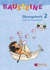Bausteine Übungsheft 2. Lateinische Ausgangsschrift. Mit CD-ROM. Nordrhein-Westfalen. Neubearbeitung