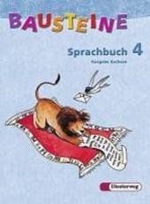 Bausteine Sprachbuch 4. Sachsen. RSR
