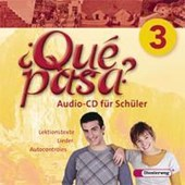 Qué pasa 3. CD für Schüler