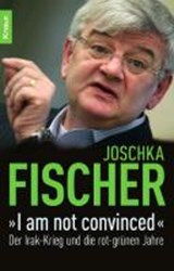 """I am not convinced"" 