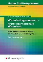 Holzer Stofftelegramme Wirtschaftsgymnasium. Aufgabenband. Baden-Württemberg