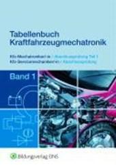 Tabellenbuch Kraftfahrzeugmechatronik Band