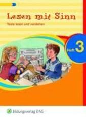 Lesen mit Sinn 3. Arbeitsheft