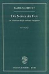 Der Nomos der Erde im Völkerrecht des Jus Publicum Europaeum