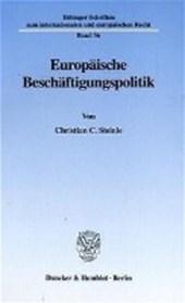 Europäische Beschäftigungspolitik