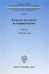 From lex mercatoria to commercial law