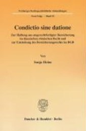 Condictio sine datione