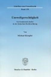 Umweltgerechtigkeit